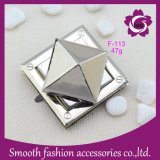 Wholesale Metal Alloy Silver Bag Turn Lock Handbag Accessories Hardware