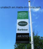Metal Street Light Pole Advertising Flag Hardware (BS46)