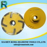 Diamond Cup Wheels Resin Filled for Granite, Marble, Concrete