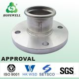 Top Quality Sanitary Stainless Steel 304 316 Press Flange