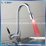 Top Seller Brass LED Pull out Kitchen Water Mixer