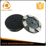100mm Hook & Loop Diamond Segment Marble Metal Polishing Pad