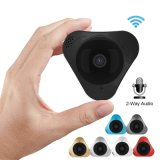 Smart Home Camera HD 1.3MP 360 Degree Panoramic Two Way Audio Wireless P2p WiFi IP Camera Support 32GB Memory Card