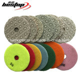4 Inch Diamond Wet Quartz Polishing Pad for American Market