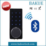 Keyless Touchscreen Password Remoted Bluetooth Door Lock in Zinc Alloy