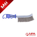 Stainless Steel Wire Knife Brush Coated with Cooper