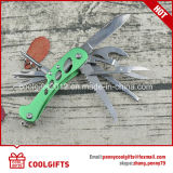 High Quality 9 in 1 Multi Functional Stainless Steel Camping Folding Knife