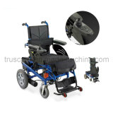 Electric Power Wheelchair with CE&ISO Approved (Spray power / Aluminum Frame)