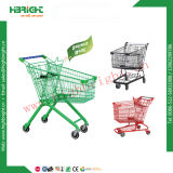Power Coating Supermarket Shopping Trolley