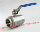 2-PC Reduced Bore Ball Valve, 2000wog