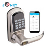 Remote Access Digital Smart Bluetooth Door Lock Smartphone APP Door Lock for Home Office and Apartment