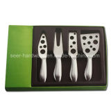 4PCS Stainless Hollow Handle Cheese Set Knife (SE-3012)