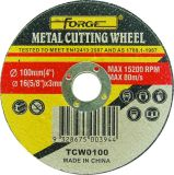 100*3*16mm Flat Type Cut Disc Cutting-off Wheel for Metal