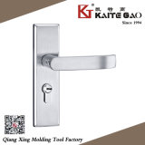 304 Stainless Steel Hollow Door Handle on Plate (KTG-5002-012)