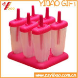 Custom Colorful Silicone Ice Cream Popsicle Mold for Home (YB-AB-019)