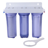10'' Water Filter with 3 Stage Clear Housing