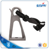Plastic Suspension Clamp with Preinstall Aluminum Bracket for Pole Line Accessory