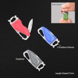 Multi Function Knife with Bottle Opener and Carabiner (#6230)