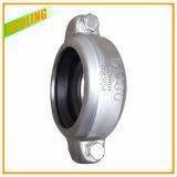 3 Inch Stainless Steel Flexible Rubber Half Coupling Connector Clamp Pipe Fitting