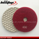 400# D100mm Diamond Dry Flexible Polishing Pad for Stone