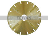 Segmented Protective Electroplated Blade for Marble
