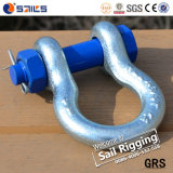 High Tensile Steel Anchor Bow Bolt and Nut G2130 Shackles