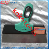 Big Wide Double Color Soft Rubber Handle Scraper Putty Knife