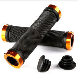 Aluminum Alloy Double Lock Anti Skid Rubber Grips for Bicycle