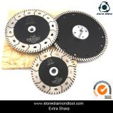 Turbo Wave Dry Grinding Cutting Diamond Saw Blades