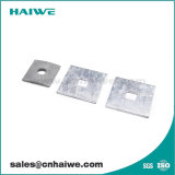 Hot Dipped Galvanized Steel Flat Washers for Pole Line Hardware