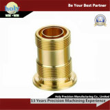CNC Machining Hardware Component Brass Pipe Fitting