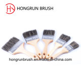 Wooden Handle Paint Brush Hy007