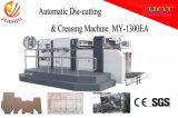 Paper Carton Flat Bed Automatic Die Cutter and Creasing Machine
