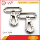 New Style Hardware Large Sliver Oval Ring Swivel Snap Hook