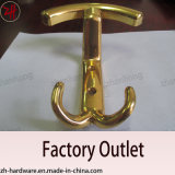 Zinc Alloy Beautiful Design Double Clothes Hanger Cat Hooks (ZH-2057)