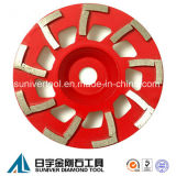 Concrete Grinding Cup Wheel with L Shape Grinding Segments