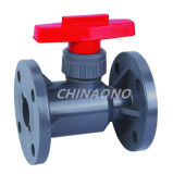 PVC Ball Valve Flange Type Ball Valve