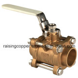3-Piece Brass Ball Valve