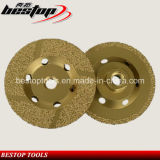 vacuum Brazed Angle Grinder Cup Wheel