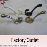 Zinc Alloy Beautiful Design Double Clothes Hanger Cat Hooks (ZH-2009)