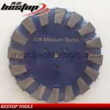 50# Medium Hook and Loop Backing Diamond Concrete Cutting Disc