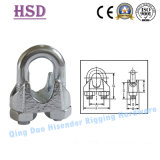 E. Galvanized Malleable Cast Iron DIN741 Wire Rope Clamp