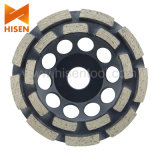 Turbo Diamond Grinding Cup Wheel for Stone, Concrete