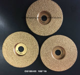 Vacuum Brazed Diamond Grinding Saw Blade for Concrete Cutting