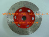 100mmcontinuous Diamond Grinding Cup Wheel for Granite