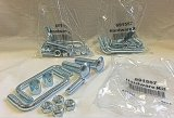 High Quality Hardware Kits-Poly Bagging-Zinc Plated Hardware