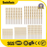 50 PCS Drill Tool Accessories Power Tools Mini HSS Drill Bits Set