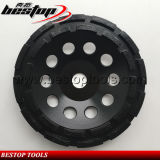 125mm Row Segment Abrasive Stone Grinding Wheel with 22.23mm Connector