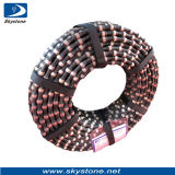 Skystone Wire Saw with Rubber for Granite Cutting