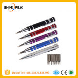 Multifunction 8 in 1 Mini Aluminum Precision Pen Screw Driver Screwdriver Set Repair Tools Kit for Cell Phone Hand Tool Set